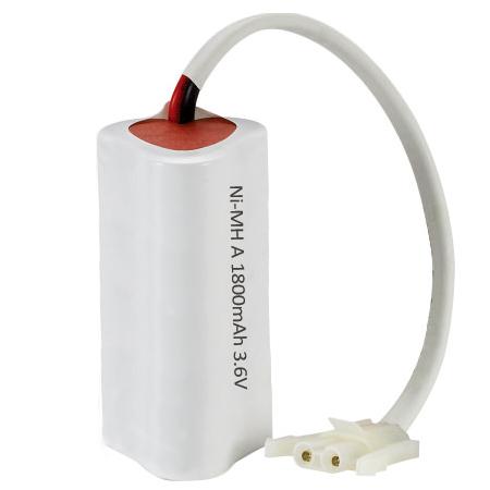 Emergency light 3.6V battery pack