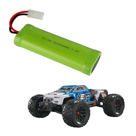 RC toy car battery pack
