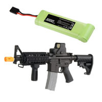 High rate airsoft gun battery